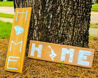 Custom Hand-Lettered Home Sign