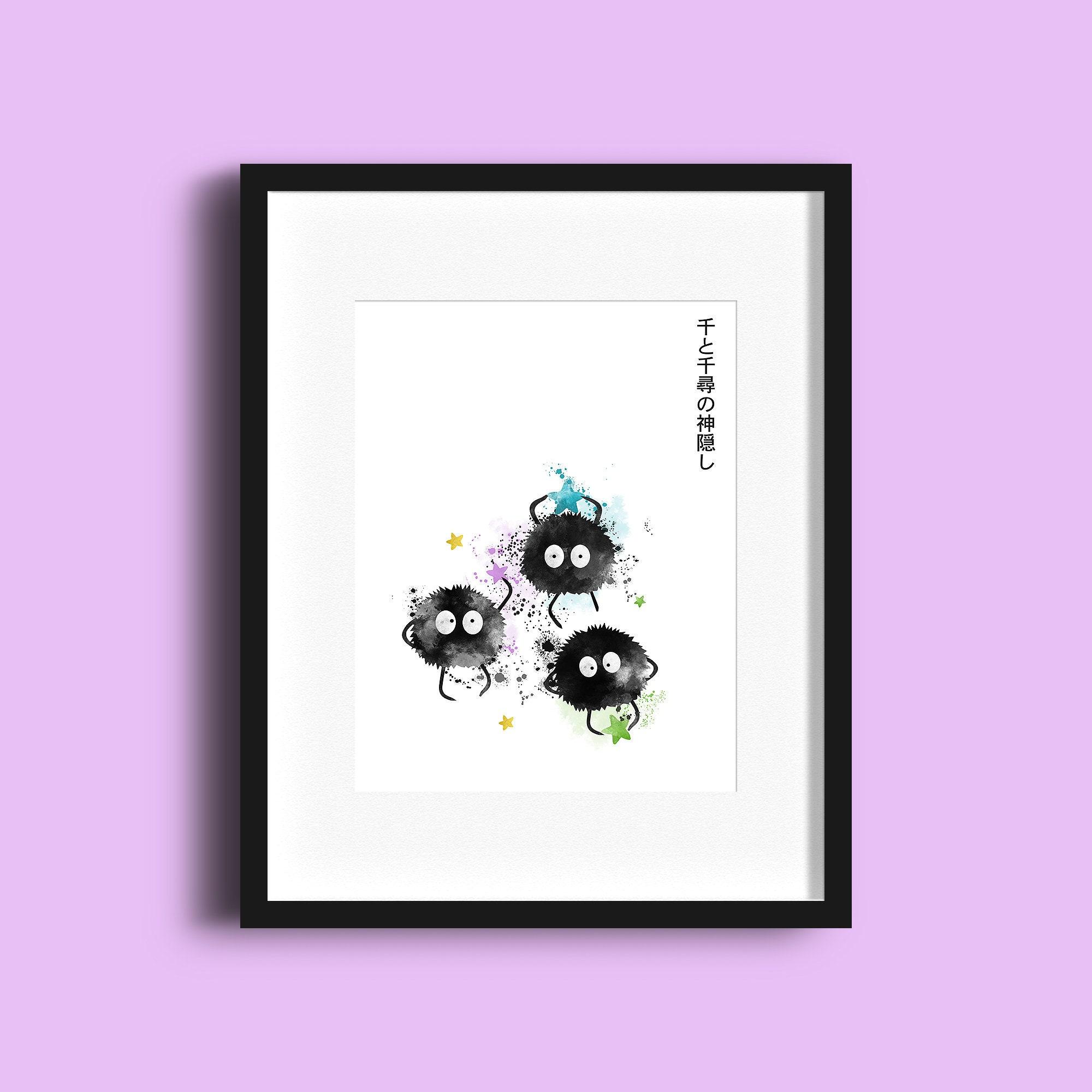 Chihiros Reise ins Zauberland Ruß Sprite Sootballs | Etsy
