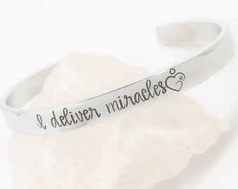 midwife thank you gift obgyn gifts midwife jewelry doula etsy