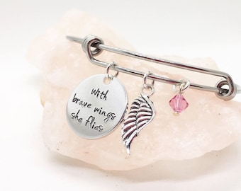 Inspirational Jewelry, Gift for Her, Brave Jewelry, Inspirational Gift, Motivational Jewelry, Motivational Gift