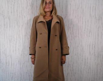 Vintage Wool Angora Coat