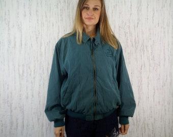 Jacket Bomber WP Made in Guatemala Green Weatherproof Vintage