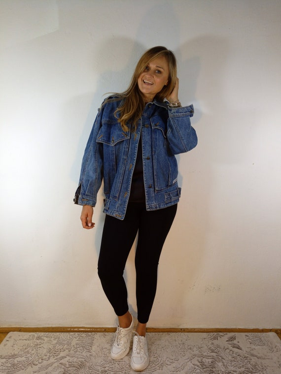 Vintage Betty Barclay Collection Jeans Jacket