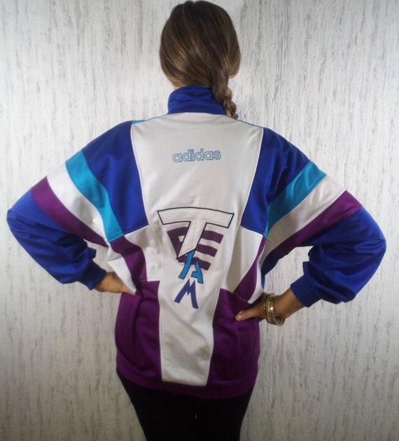 Adidas Trainingsanzug Jacke Pullover Shirt Jacke Vintage 80
