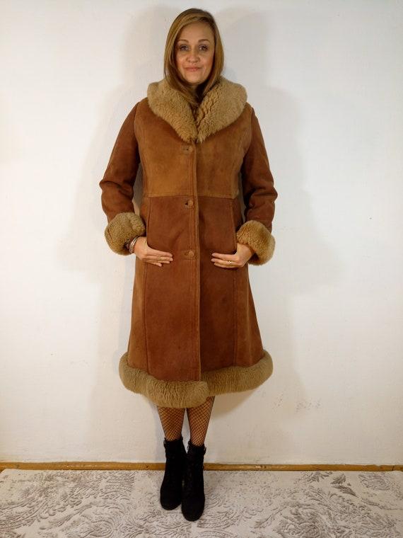 Vintage_Penny Lane Sheepskin Coat Extremely Cosy R