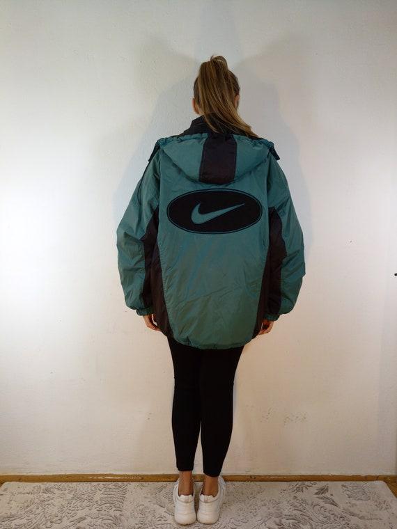Vintage Andrea Agassi Big Logo Nike Jacket Windbre