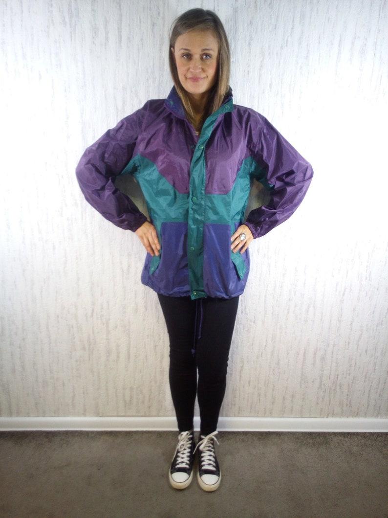 163809203 Vintage Jacket Festival Jacket Rain Coat Rain Jacket | Etsy
