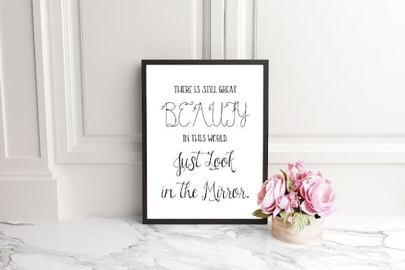 Body Positive Quotes Inspirational Quote Printable Etsy
