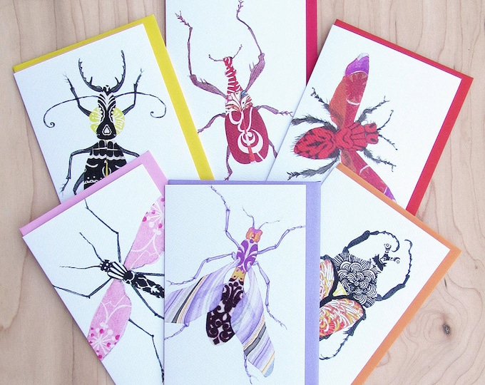Bug Card 6-Pack 2
