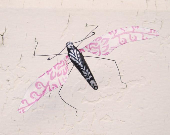Pink Flutter Bug