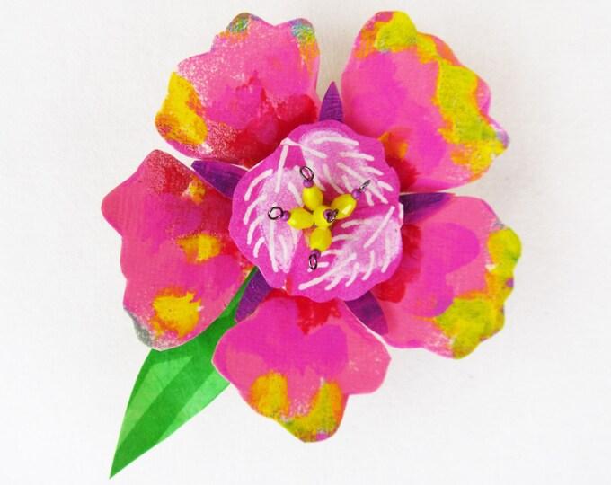 Funky Flower Magnet: Sun Blossom
