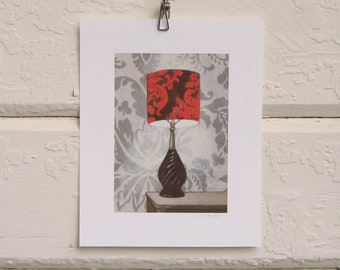8 x 10 Lamp Print - Autumn Glow