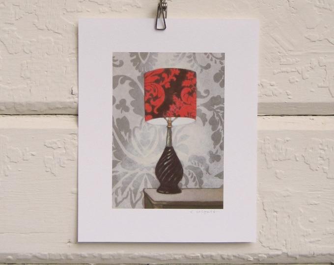 Autumn Glow Lamp Print