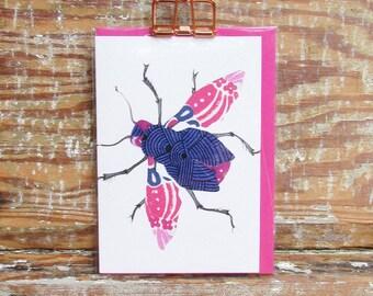 Kimono Bug Card