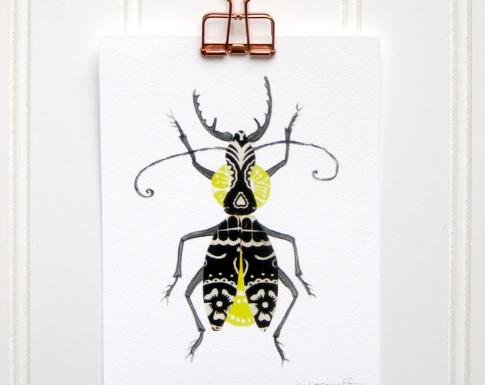 Mariachi Bug  Print
