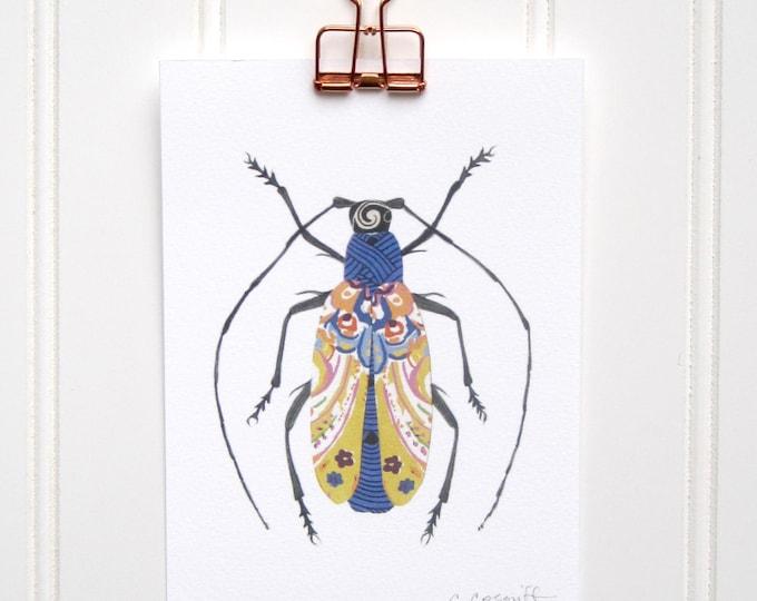 Antennae for Days Bug  Print