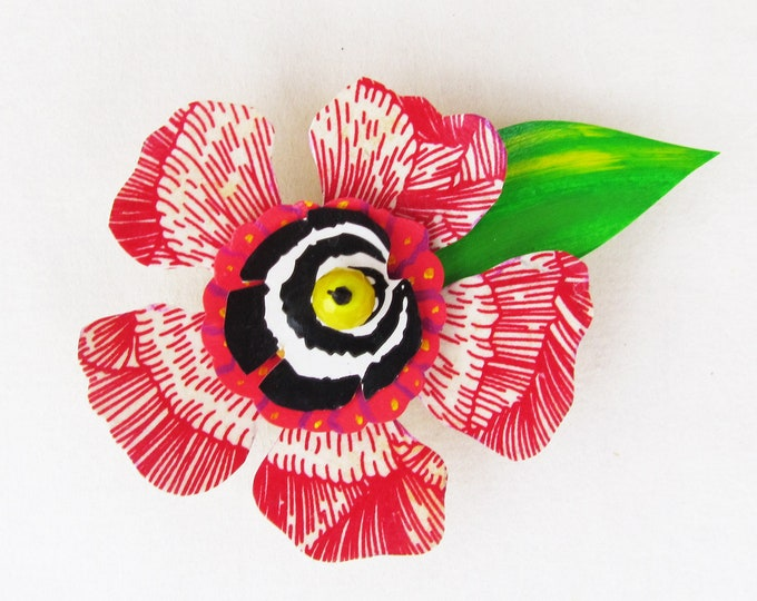 Funky Flower Magnet: Ravishing Redbud