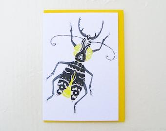 Mariachi Bug Card
