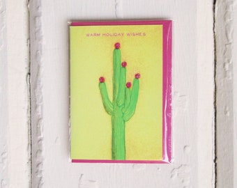 Cactus Holiday Card 6-Pack