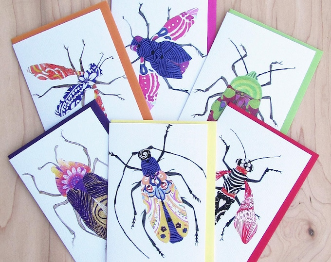 Bug Card 6-Pack 1