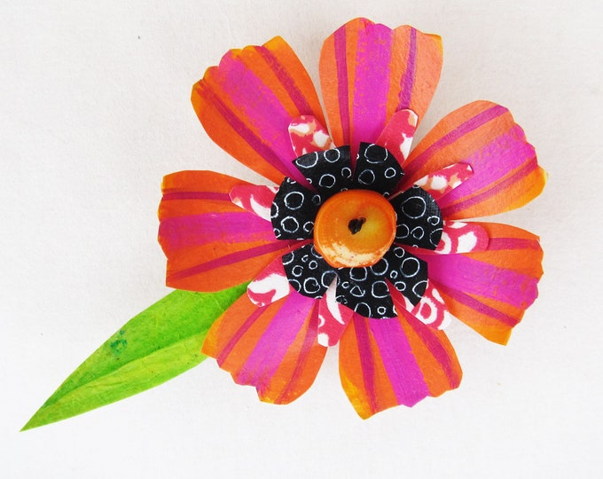 Funky Flower Magnet: Rosey Posey