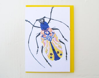 Antennae for Days Bug Card