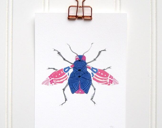 Kimono Bug  Print