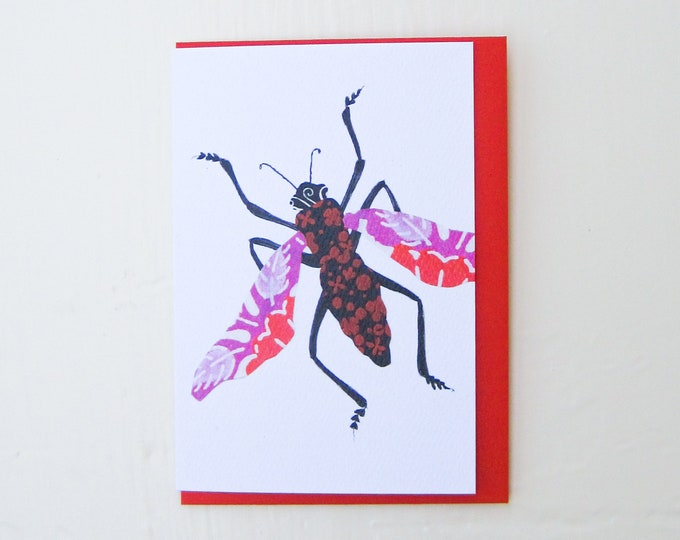 Hugs and Kisses Bug Card