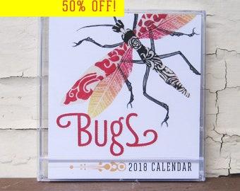 Bugs Calendar 2018
