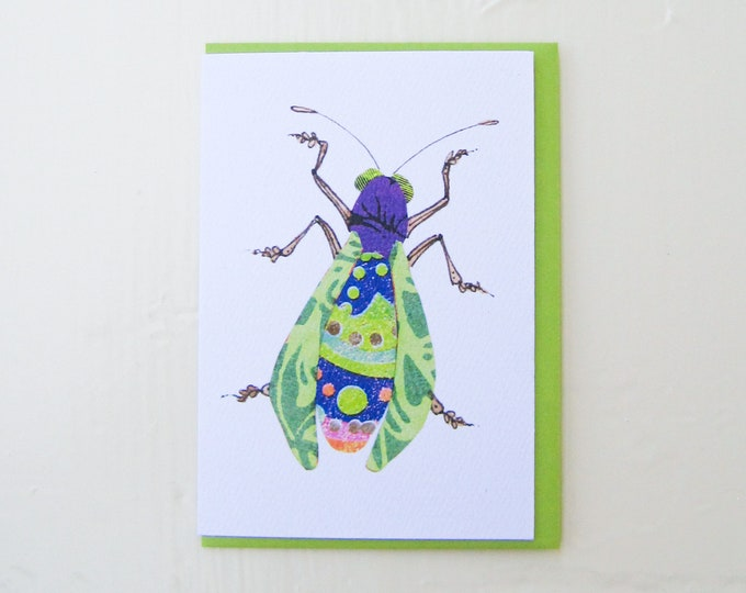 Limeade Bug Card
