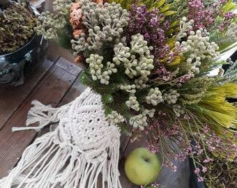 Macrame Bouquet Wraps