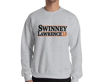 9392d0102 Clemson Tigers Dabo Swinney Trevor Lawrence Jersey Shirt Sweatshirt