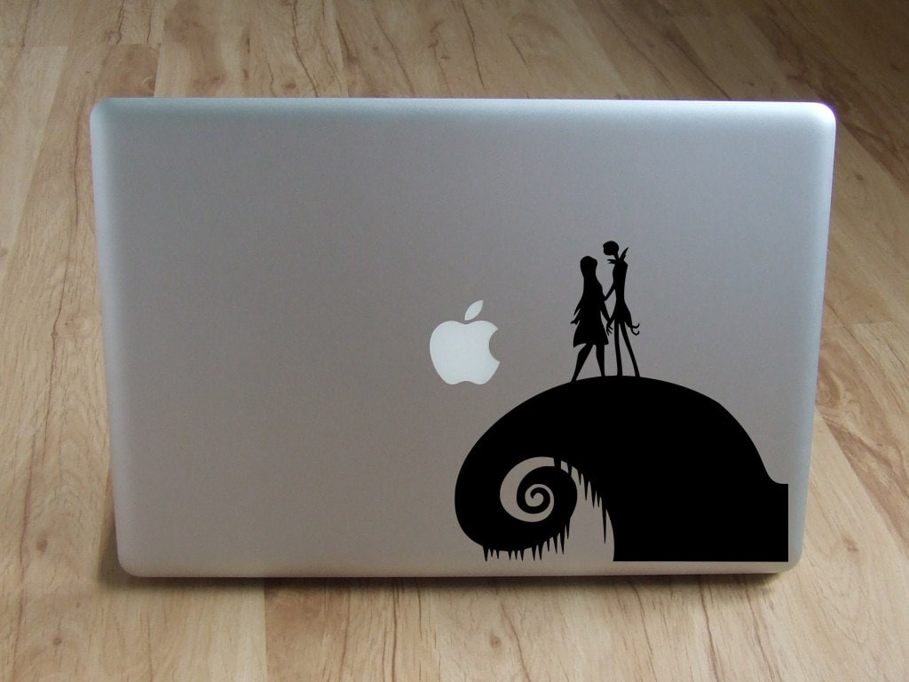 Nightmare Before Christmas decal Jack Skellington and Sally   Etsy