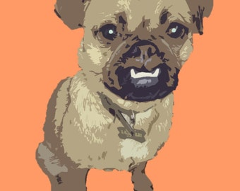 Pop Art Pet Print