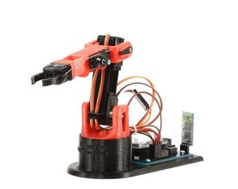 LittleArm 2C: 3D Printed Arduino Robot Arm Kit