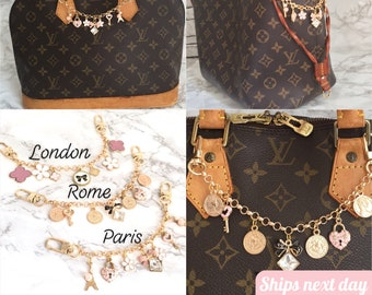 2c2a8bdc01e9 Louis Vuitton Neverfull charm Handmade Bag Charm/Chain/Key Charms for  Luxury bags/accessories: Louis Vuitton, Chanel, Gucci, Hermes, Fendi