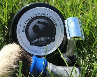Shaving Soap - For The Love of Leather