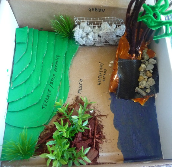 Soil Erosion Prevention Science Projects For Kids School Etsy
