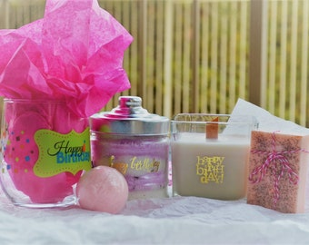 Birthday Spa Gift Set Best Friends Luxury For Her Basket Mother Sister