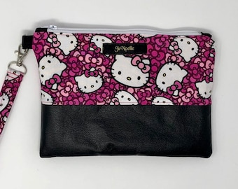 JeNoelle Pretty In Kitty Wristlet Clutch 12ceb7fe1a60e