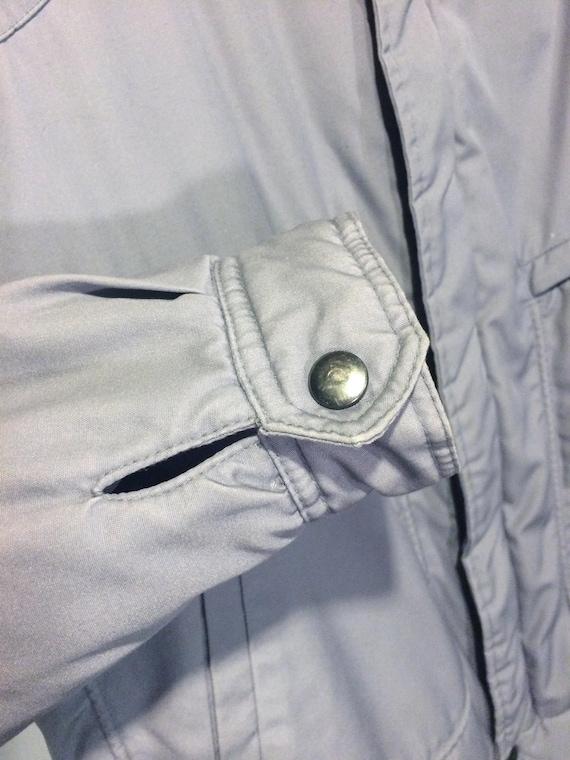 44/XL   gris de vintage des léger années 70 hommes UTEX matelassé bombardier léger des isolé veste manteau 69859d