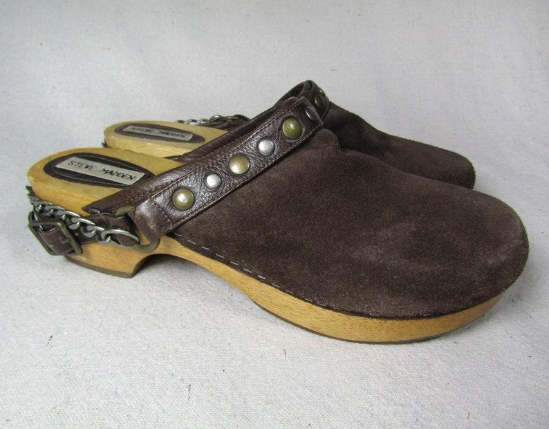b4141dccbee Size 10 vintage Steve Madden clogs   vintage 90s clogs
