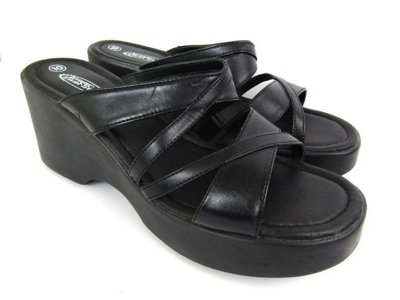 4d9c6b1b1dfe Sz 10 90s Lower East Side sandals 90s platform sandals 90s