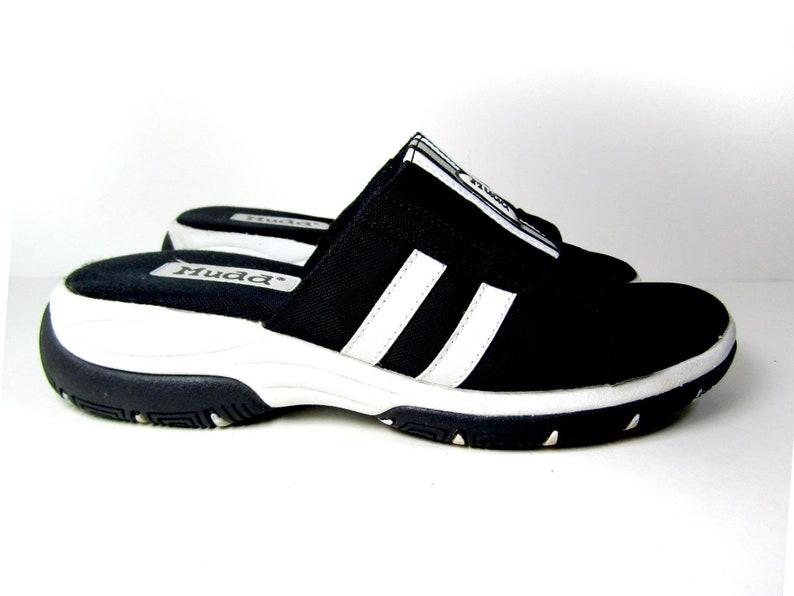 1373004269a Sz 9 90s Mudd slide sandals club kid sandals 90s platform