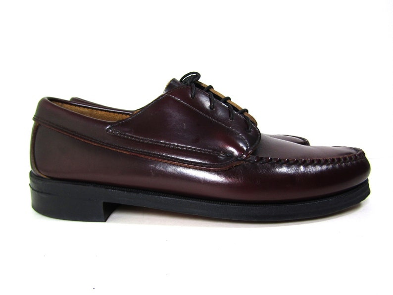 8f8b8316e0d Sz 9 D mens LL Bean loafers vintage cordovan loafers 80s