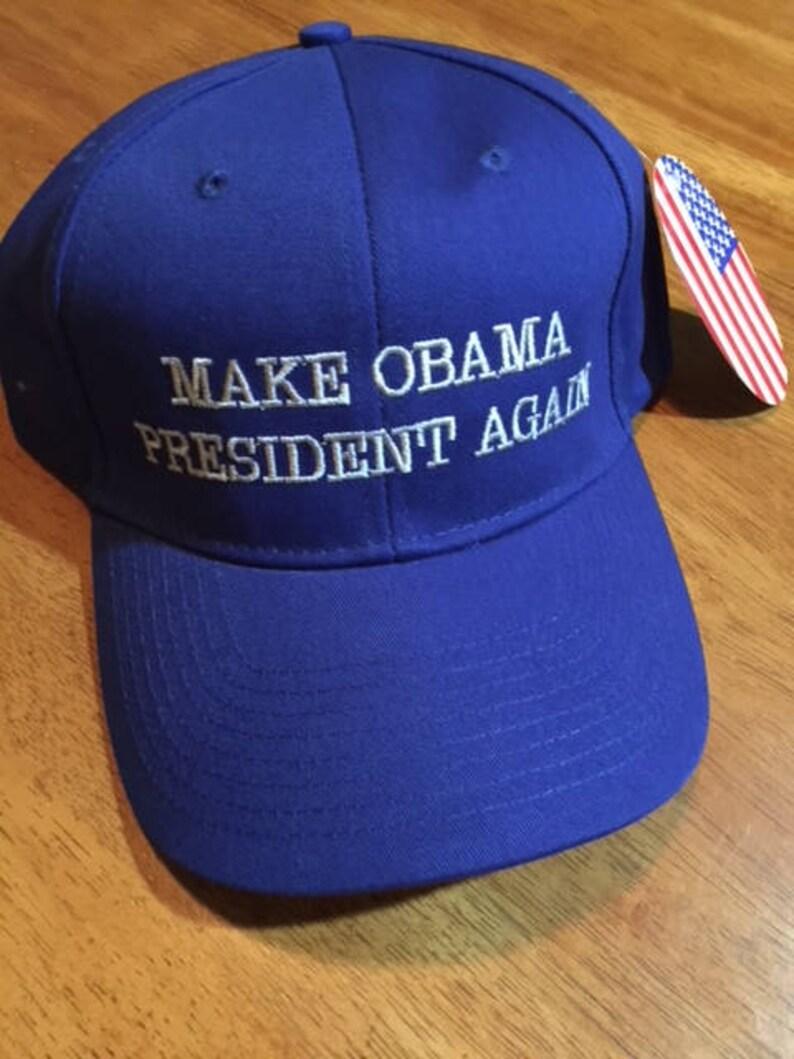 d721f450aa4 MAKE OBAMA PRESIDENT Again hats