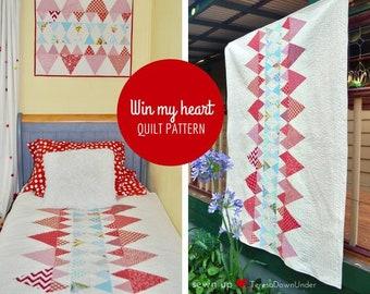 Win my heart quilt pattern