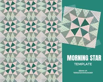 Morning star block templates