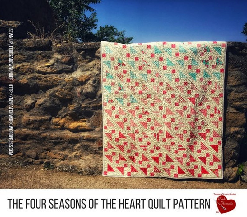 The four seasons of the heart quilt: 1 pattern 4 quilts image 0