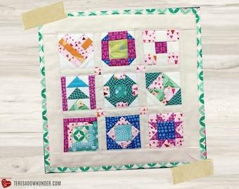 Tiny Quilt templates